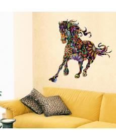 Abstraktní zebra - samolepka na zeď