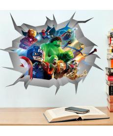 3D samolepka - Avengers