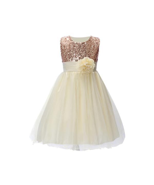 Dětské společenské šaty s nabíranou sukní a flitry vhodné na svatbu 8aab596460