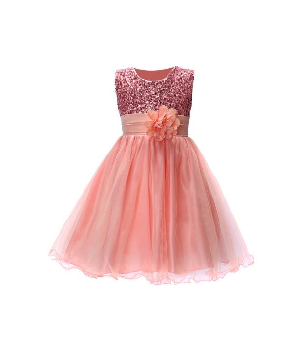 371f02a2b640 Dětské společenské šaty s nabíranou sukní a flitry vhodné na svatbu