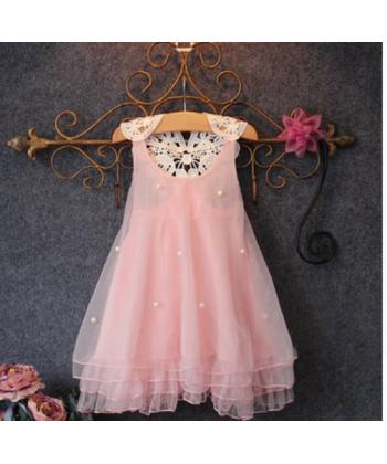 de21e123398 Luxusní dětské společenské šaty vhodné na svatbu