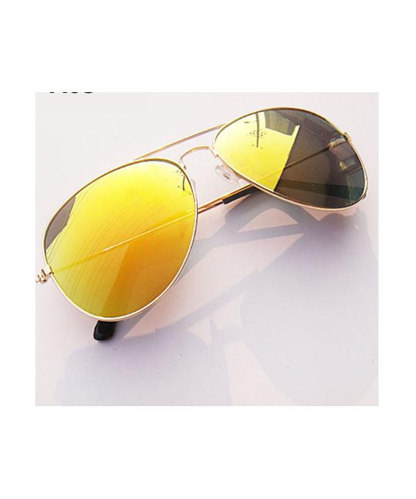 06fe54f3c Pánské sluneční brýle Pilotky se zlatými skly