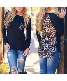 Šifónová halenka s leopardím vzorem