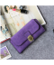 Dámská kožená peněženka barevná