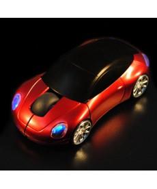 Optická myš ve tvaru auta