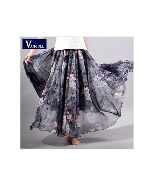 55dbd7927fa2 Vzdušná dlouhá letní sukně v mnoha barvách