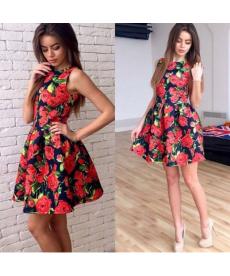 Letní květinové šaty