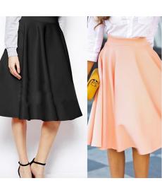 Trendy skládaná sukně
