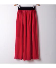 Letní sukně s pružným pasem
