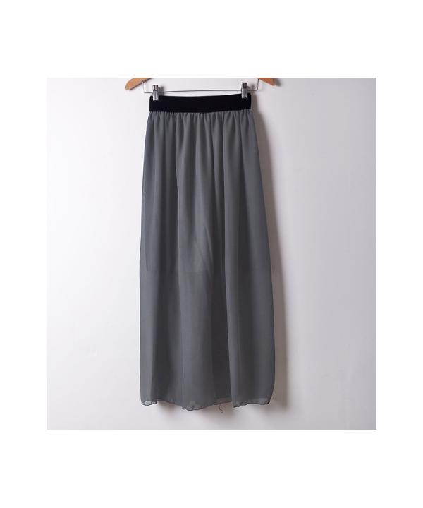 e33cd95b3 Dlouhá šifonová sukně v pestrých barvách