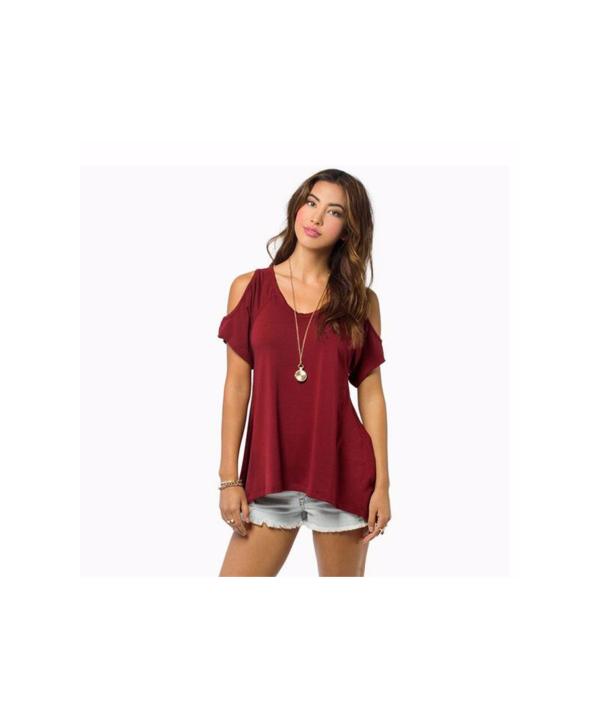 0899643ecbe4 ... Trendy tričko s holými rameny