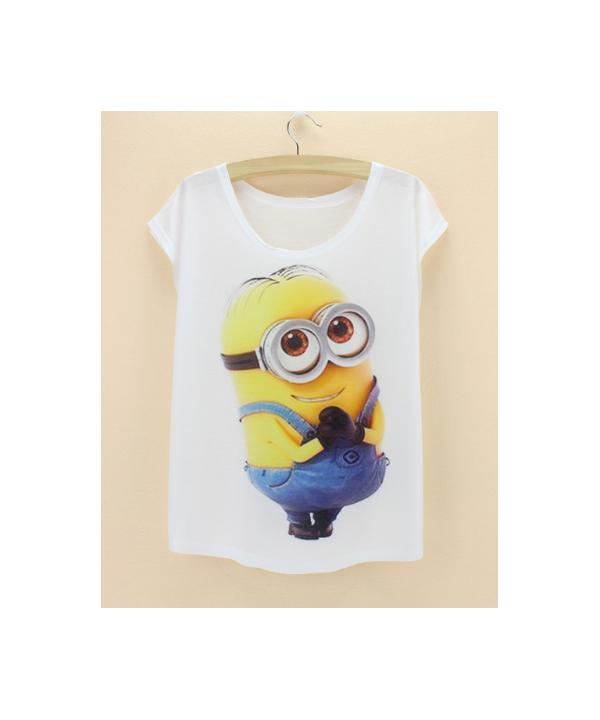 fd0acf3703ff Dámské klasické tričko s motivy Mimoni