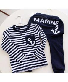 2dílný chlapecký námořnický set