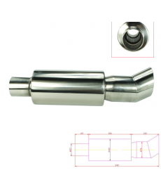 výfuk kit Muffler Silencer