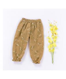 Lehké letní dívčí kalhoty