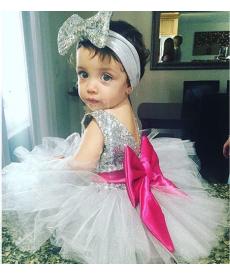 Slavnostní šaty pro malou princeznu