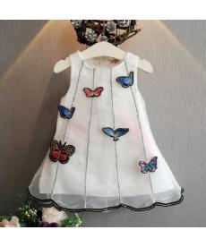 Krásné šaty s motýlky