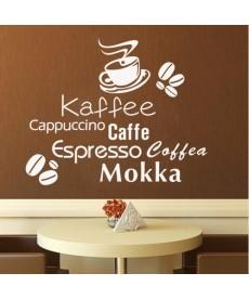 Coffe Time - Nálepka na zeď
