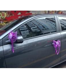 Svatební ozdoba na auto