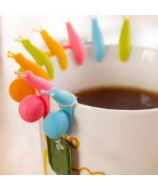 Držák na pytlík čaje - šnek
