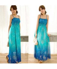 Sexy dlouhé šifonové šaty