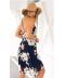 Květované šifonové šaty
