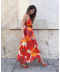 Krásné dlouhé šifonové šaty