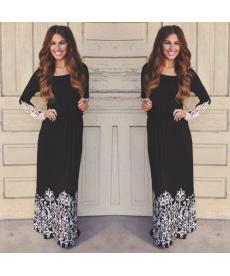 Krásné dlouhé společenské šaty
