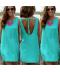 Tyrkysové letní šaty