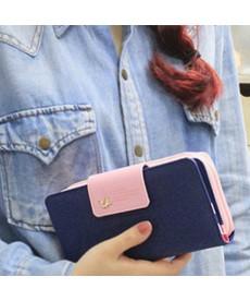 Klasická dámská dvoubarevná peněženka