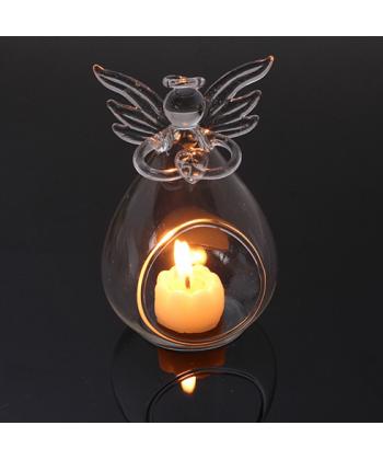 Stojan na svíčku anděl