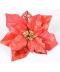 Sada umělých vánočních květin