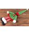 Dekorační vánoční návlek na láhev