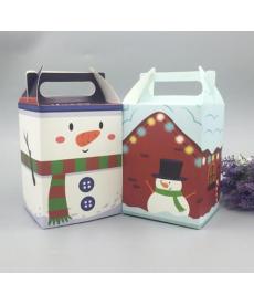 Designový papírový box na vánoční dárky