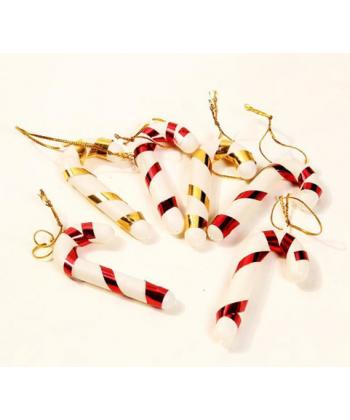 Sada ozdob na vánoční stromeček - Santova berle