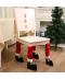 Vánoční dekorace na židli
