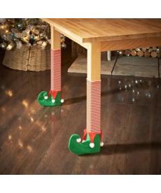 Vánoční dekorace na židli - styl elf