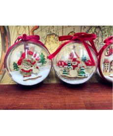 Vánoční dekorační ozdoby - koule