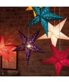 3D vánoční dekorační hvězda