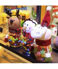Vánoční nádoba na bonbóny
