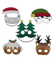Vánoční party masky