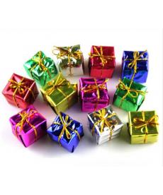 Sada dekoračních vánočních balíčků