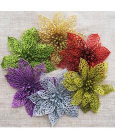 Dekorační květiny vhodné na vánoce