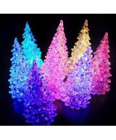 Svítící vánoční stromeček