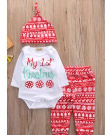 Vánoční kojenecký set - první vánoce