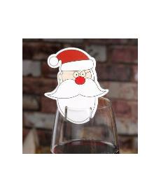 Set vánočních dekorací na sklenici