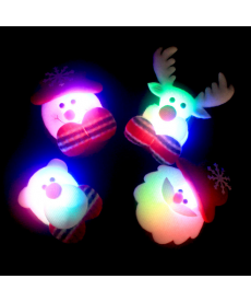 Vánoční svítící odznak