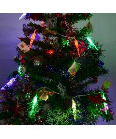 Dekorační vánoční řetěz - rampouchy