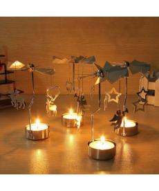 Vánoční dekorační stojan na svíčku