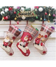 Vánoční dekorační ponožka